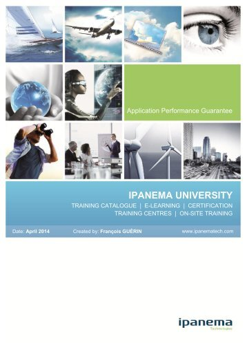 Training Catalogue - Ipanema Technologies