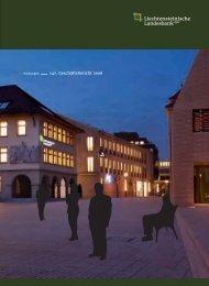 Verbindungen - Geschäftsbericht 2008 - Liechtensteinische ...
