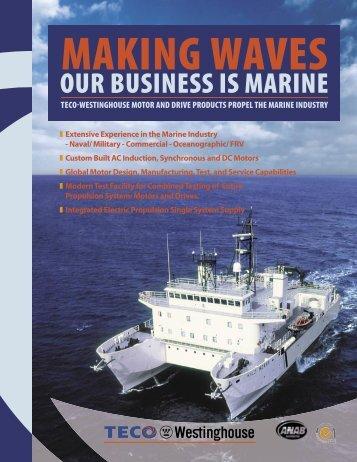 Marine Industry Brochure - TECO-Westinghouse Motor Company