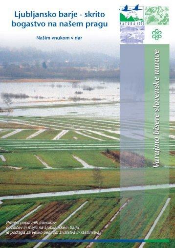 Ljubljansko barje - Natura 2000