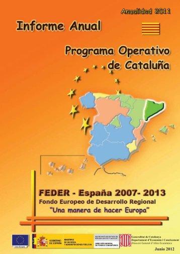 Año 2011 (pdf) - Dirección General de Fondos Comunitarios