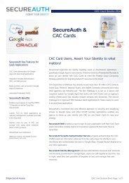 SecureAuth &