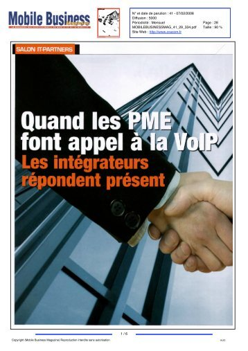 Mobile Business Magazine N° 41 - 07/02/2008 - 334 - HL2D