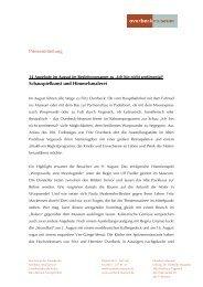 Pressemitteilung Schauspielkunst und Himmelsmalerei - Overbeck ...