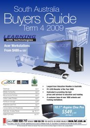 Term 4 2009 - Learning with Technologies