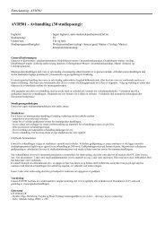 AVH501 - Avhandling (30 studiepoeng): - Det teologiske ...