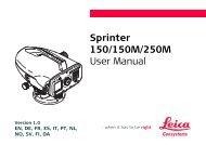 Sprinter 150/150M/250M User Manual - SERTOPO.net