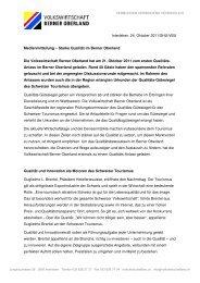 111022_Medienmitteilung_Qualität im Berner Oberland