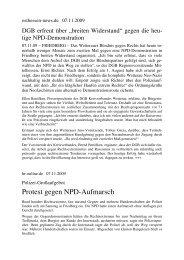 Anti-NPD-Demo FB 07 11 09 Presseecho - Anti-Nazi-Koordination ...