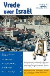 Jaargang 46 Nummer 5 November 2002 - Kerk en Israël