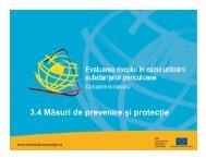 masuri de prevenire si protectie - ITM Hunedoara