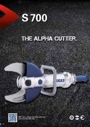 the ALPHA cutter. - PT Hydraulics