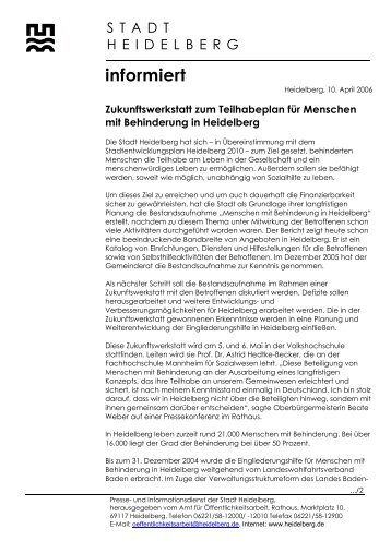 Heidelberg, 3 - Stadtpolitik Heidelberg
