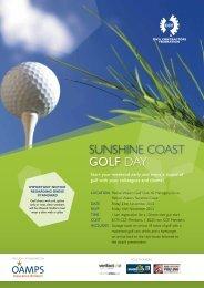 SUNSHINE COAST GOLF DAY - Civil Contractors Federation