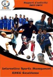 Rapport d'activité ISM 2011-2012 - Ecole Nationale de Commerce et ...