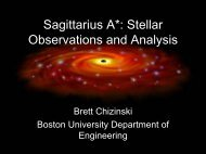 Brett Chizinski - Boston University Physics Department.