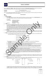 to download a sample Tenancy Agreement - Minto