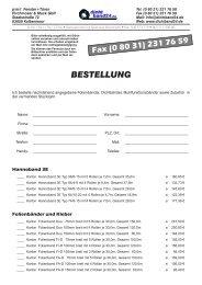 BESTELLUNG - Dichtband24.de