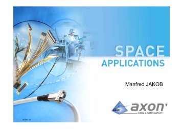 AXON Space Solutions - Luxembourg Space Cluster