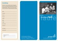 Taufe - Anmeldung - FCGW