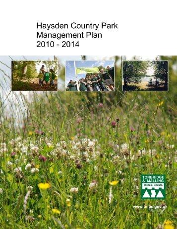 Management Plan 2010 - Tonbridge and Malling Borough Council