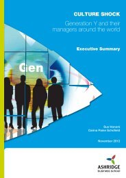 Gen Y Report_Nov2012_SUMMARY no FSC
