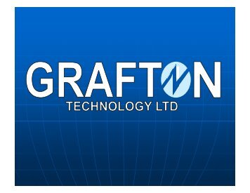 Grafton Technology Ltd - Ray STOTT - Luxembourg Space Cluster