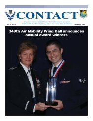 December 2008 - 349th Air Mobility Wing