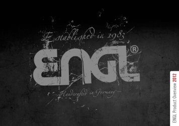 ENGL Product Overview 2012