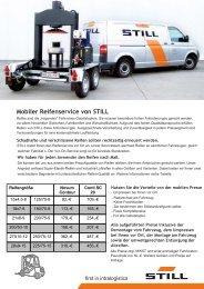STILL Service – unsere aktuellen Angebote Mobiler ... - Still GmbH