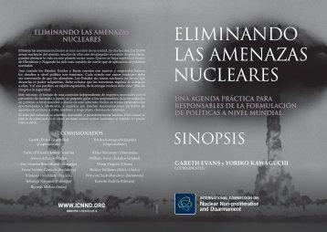 ELIMINANDO LAS AMENAZAS NUCLEARES