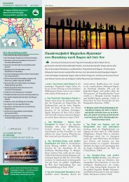 Flusskreuzfahrt Magisches Myanmar von Mandalay nach Bagan mit ...