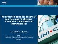 Multifaceted Roles of Facilitators - ITARI