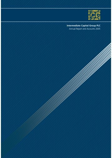Full year annual report 2005 - Intermediate Capital Group PLC