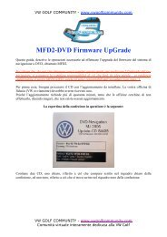 MFD2-DVD Firmware UpGrade - VW Golf Community
