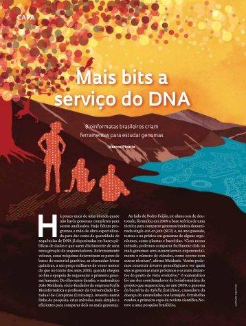 Mais bits a serviço do DNa caPa - Revista Pesquisa FAPESP