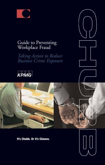 Guide to Preventing Workplace Fraud - Chubb Group of Insurance ...