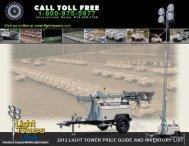 Light Tower Price Guide - Light Towers USA