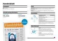 Handelsblatt Factsheet 2014 (PDF)