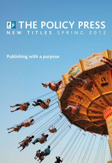 New Titles Spring 2012 Catalogue - Policy Press
