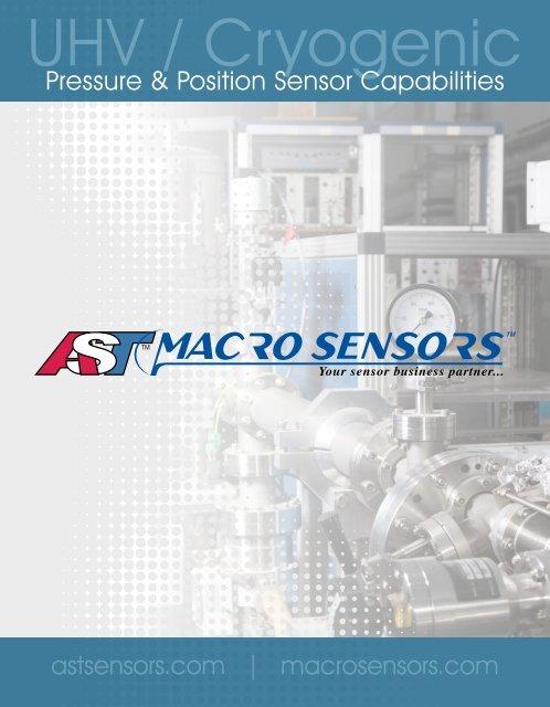 Pressure & Position Sensor Capabilities - American Sensor