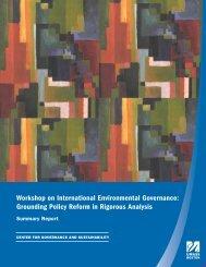 Summary Report - World Trade Institute