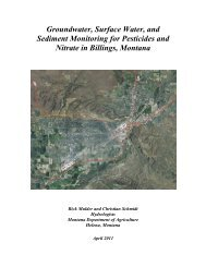 Groundwater, Surface Water, and Sediment Monitoring for ...