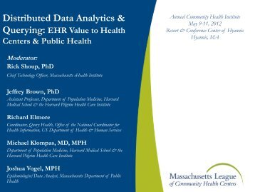 PHIConnect CDC Center of Excellence in Public Health Informatics