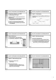Kapitel 2: Bauteilabmessungen - Energie Zentralschweiz