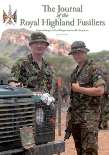 RHF 2010.pdf - The Royal Highland Fusiliers