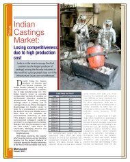 Indian Castings Market: - Metalworld.co.in