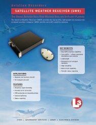 Aviation Recorders SAtellite WeAtheR ReceiveR (SWR)
