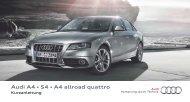 Audi A4 • S4 • A4 allroad quattro