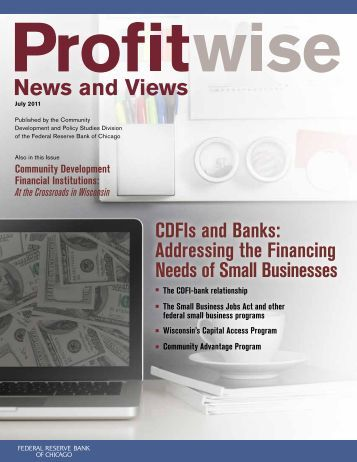 Community Development Financial Institutions - Federal Reserve ...